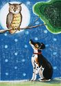 """Goodnight Mister Owl"" - J. Austin Ryan - art & illustration by Marnie V."