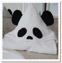 Panda Bear Bamboo Hooded Towel - cute and useful. An adorable pick!