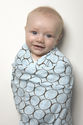 Did you know that Swaddled Babies Sleep Better? Swaddling also reduces colic and fussiness, and reduces incidence of SIDS.