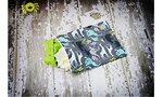 Wet Happened?® Zippered Wet Bag - For diapers, swimwear & travel, wet bags grow with you from baby, toddler, teen to adult!