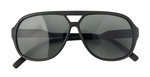 Devon aviator sunglasses For 8-12 year olds. In black and white. 100% UV protection