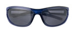 Zack sunglasses in blue, grey & black for 8-12 yrss. 100% UV protection / impact resistant lenses.