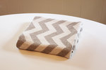 Eco Baby Blanket - Chevron Grey/Linen