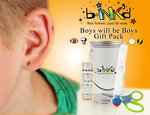 bINK'd is not just for girls....Rock on with our Boys Will Be Boys tin with boy bINK'd.  For ears, knuckles, toys & more!