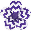 A CHEVRON Petal is the perfect pairing with any clothing line!