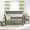Kiwi Dot Crib Bedding