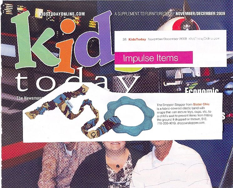 Kids Today, Nov/Dec 2009:  The Dropper Stopper