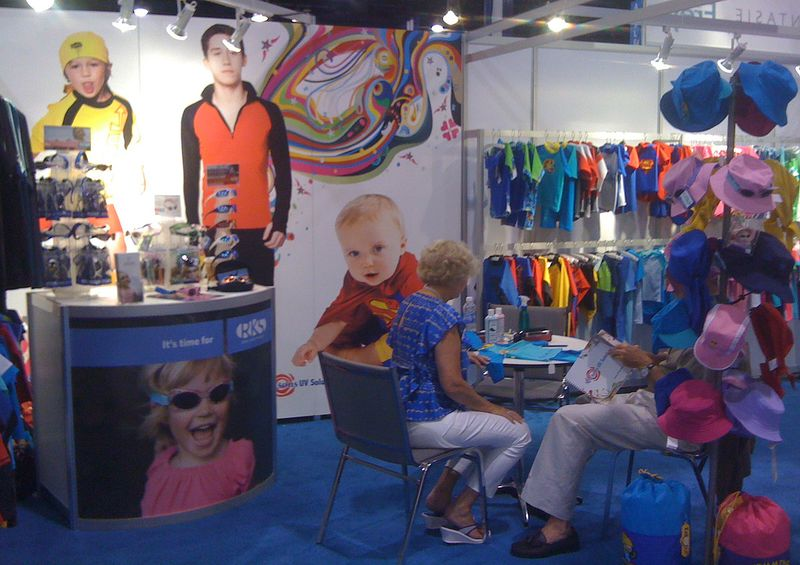 The Swim Show - Seasons UV Booth