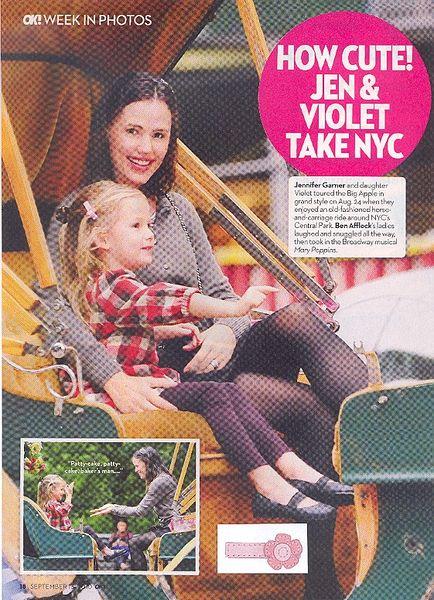 No Slippy Hair Clippy®/Pediped Abigail clip, OK Magazine