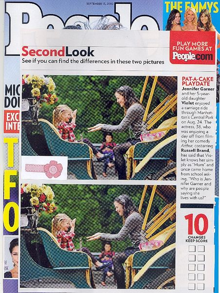 No Slippy Hair Clippy®/Pediped Abigail clip, People Magazine