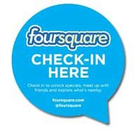 Visit Four Square to register your location for social media gurus to enjoy!