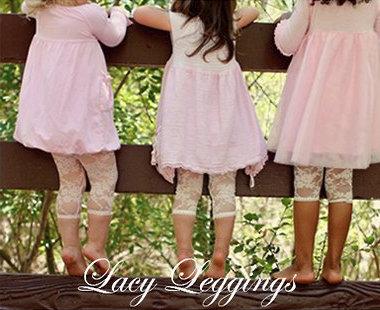 Baby Bella Maya Lacy Leggings
