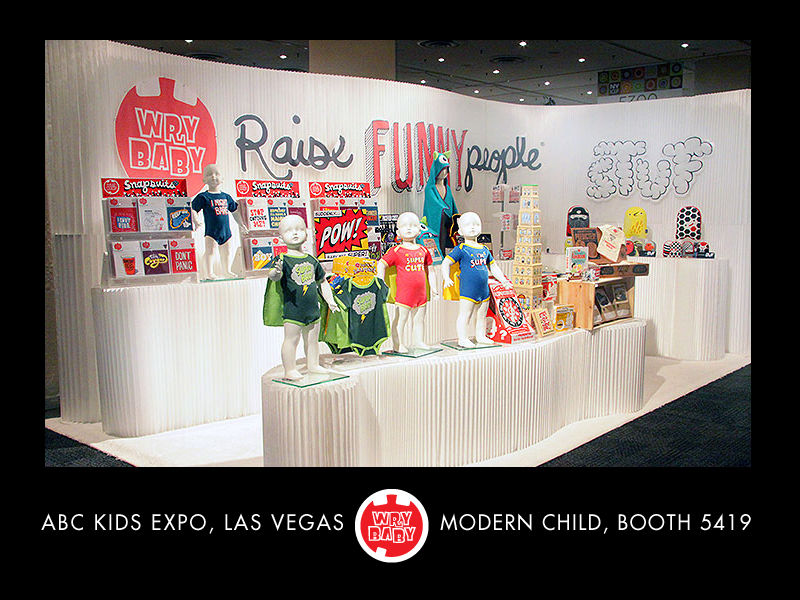 Visit Wry Baby at ABC Kids Expo, Modern Child, Booth 5419