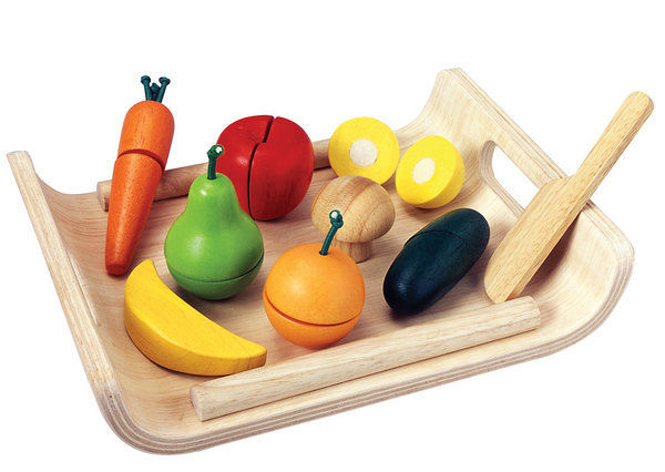 Assorted Fruits and Vegetables from PlanToys®