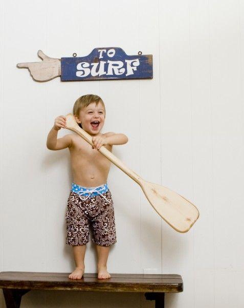 Bali Babe Toddler Boardie