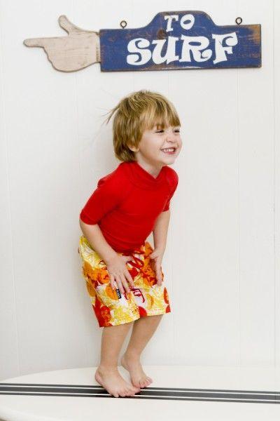 Surfin' USC Toddler Boardie