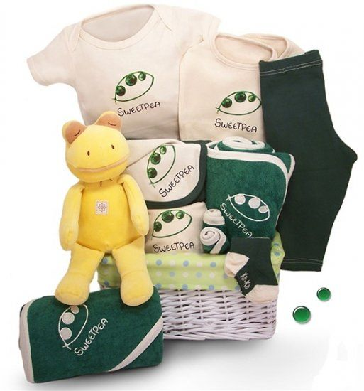 """Baby Gift Baskets even has something for the """"Green"""" moms."""