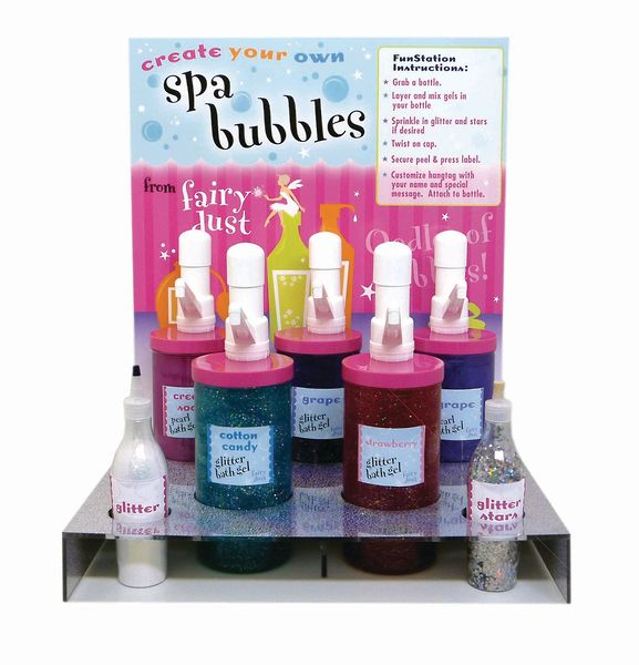 Funstations magical in store creations the giggle guide for Design your own salon