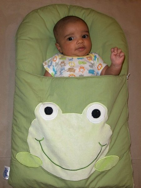 A Cushy New Life With A Z Cush Baby Nap Mat The Giggle