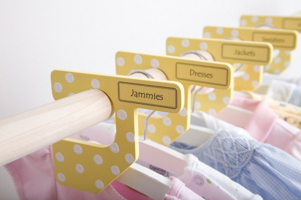 Storage ideas for kids that are neat but not tidy the for Baby clothes size organizer