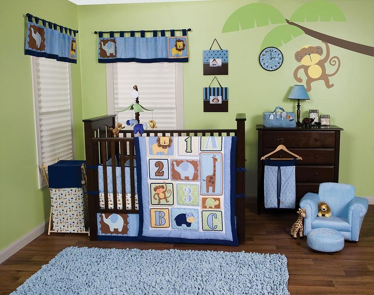 Crib Bedding Offers Hard Choices For Soft Goods The