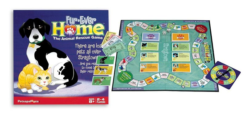 Board Games With Animals Animal Rescue Board Game