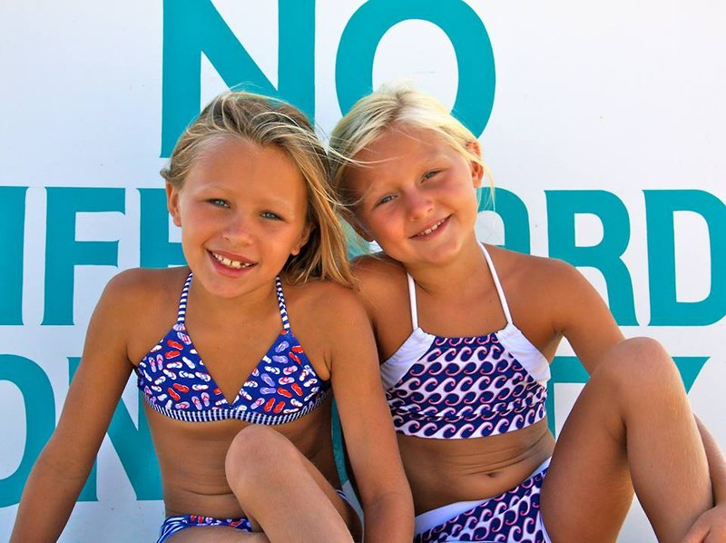 The Giggle Guide® - Squirtini Bikini Suits Tween Styles