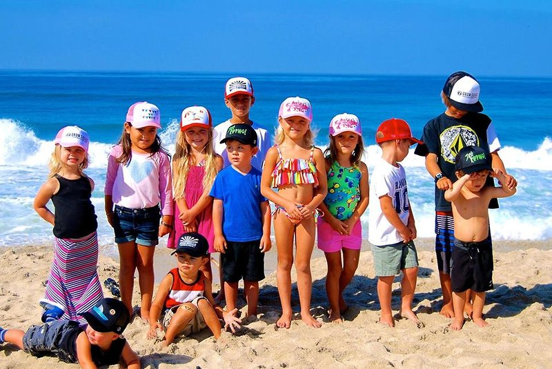 Grom Squad s Gnarly Hats Stay Put  cf748d74815