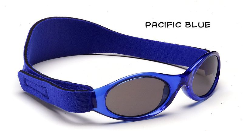 Adventure Baby and Kidz Banz polycarbonate warp-around sunglasses for ages 0-5