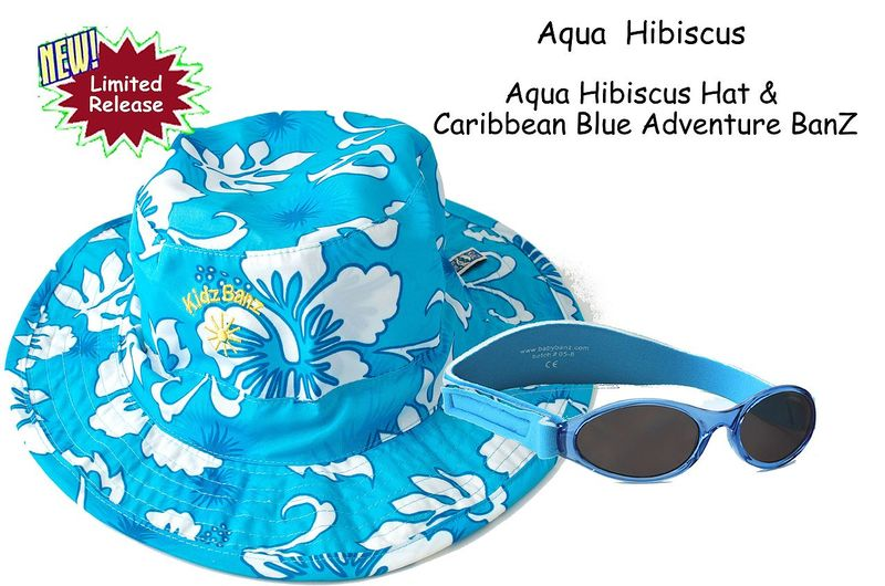 Baby Banz UV Bucket Hats and Glasses Gift Sets ages 0-5