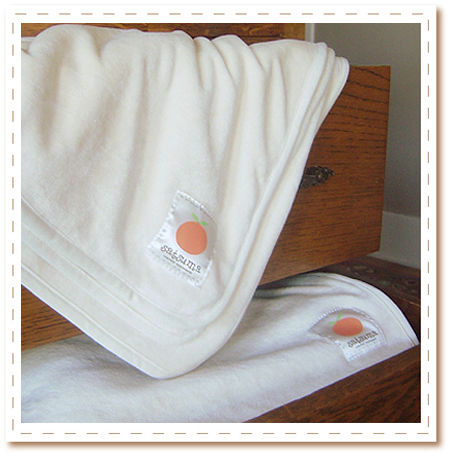Ultra plush bamboo velour receiving blanket is the perfect welcome for baby
