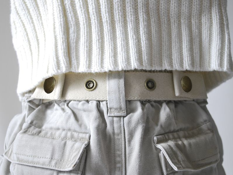 Natural Dapper Snapper toddler belt