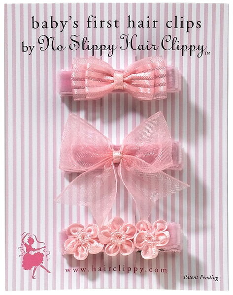 baby's first hair clips