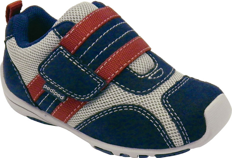 Adrian - Navy, Grey, Red (Flex)