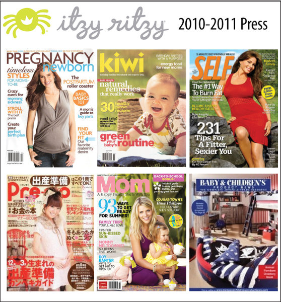 Itzy Ritzy 2010-2011 Press