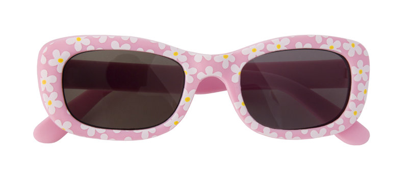 Courtney sunglasses in a floral pattern. For 0-2 year olds. 100% UV protection / shatterproof lenses.