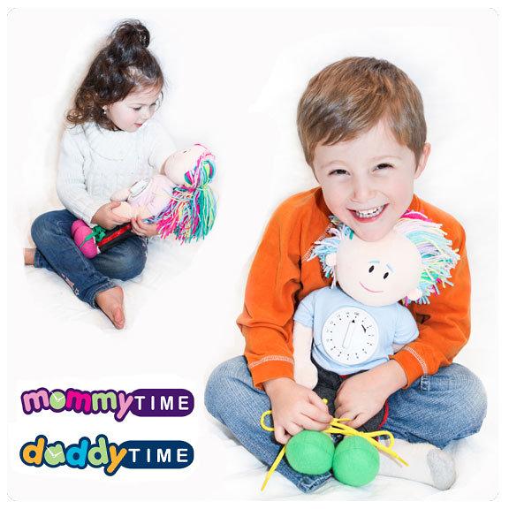 MommyTime & DaddyTime Dolls