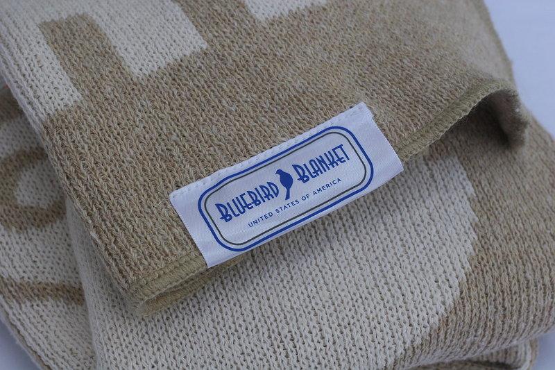 Eco Baby Blanket - Beige