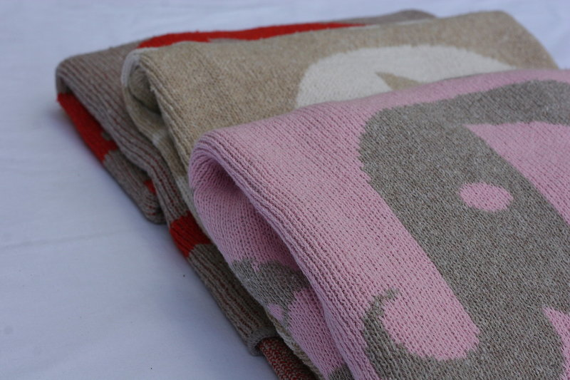 Eco Baby Blanket - Animals
