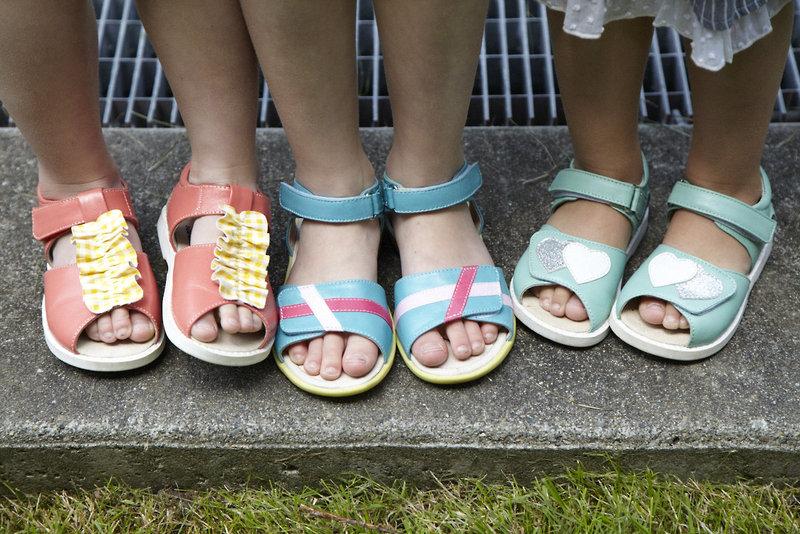 Merrilee, Peach, Mayce Rae, Blue, Penelope, Mint