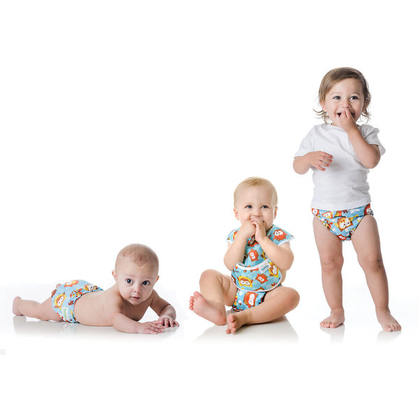 Our signature Snap-in-One cloth diaper fits babies as small as 7-32 lbs.