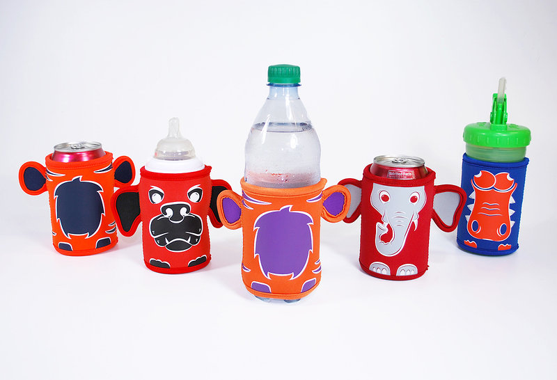 Collegiate Collection - Bottle - Buds Fun drink koozies for kids of all ages!!