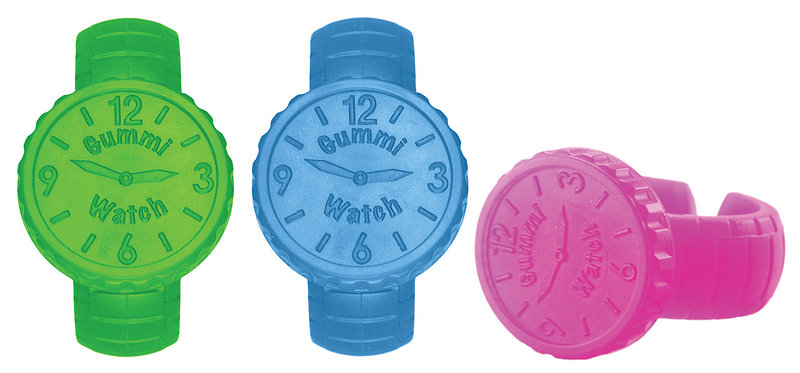 """Just My Size"" Gummi Teething Watches Ease Teething Pain in Style!"