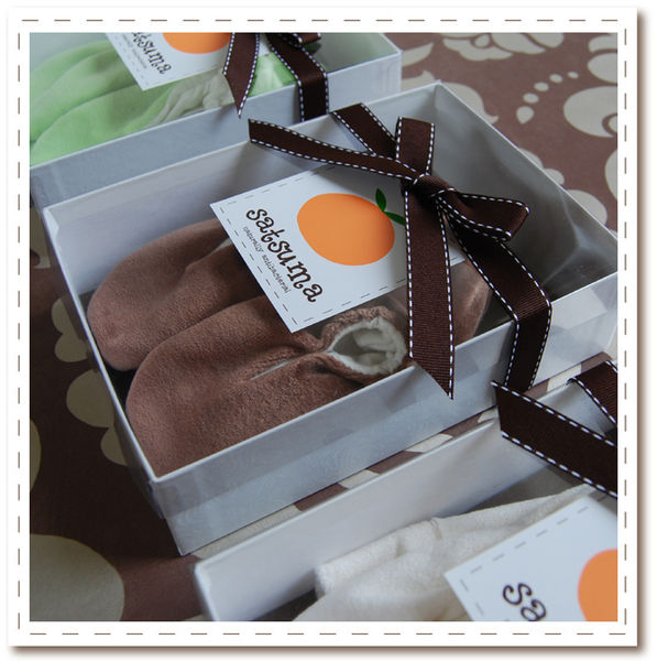 Top to Tootsies Organic Gift Set - Wrapped and Ready for Sale!