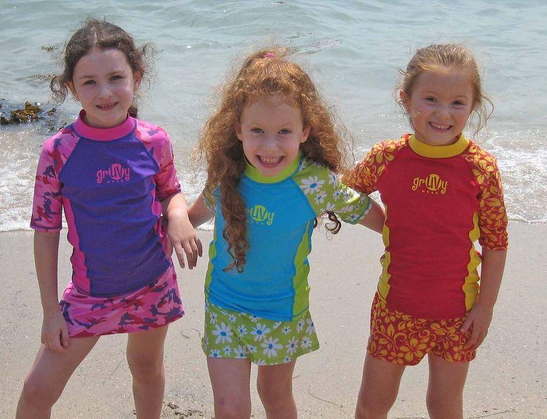 Want Fun Fashionable Uv Protective Swimwear Get