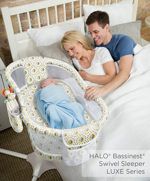 HALO launches new Premium Bassinest® Swivel Sleeper Models and