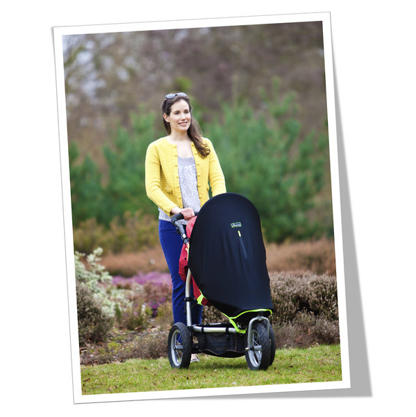 SnoozeShade Original - the award-winning stroller accessory that moms love