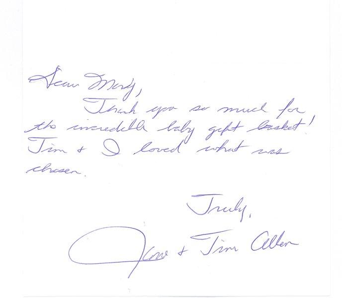 Tim Allen - Thank You Note