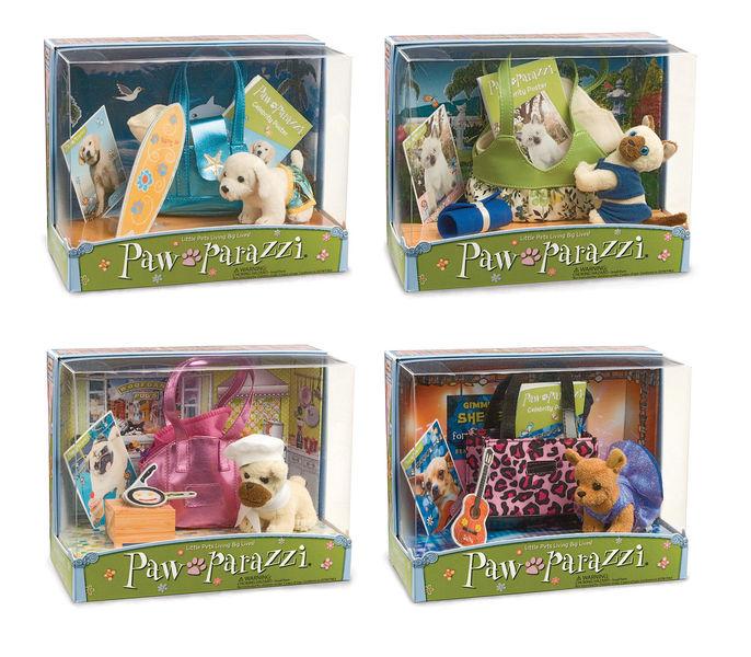 NEW Pawparazzi Pet Sets - Cooper, Karma, Woofgang & Salsa!