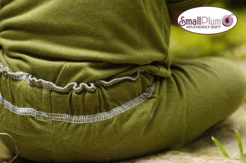 Small Plum Yoga Pants